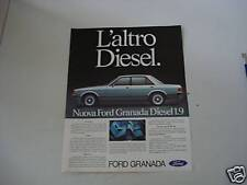 advertising Pubblicità 1978 FORD GRANADA DIESEL 1.9