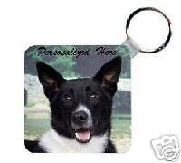Canaan Dog Personalized Breed Key Chain