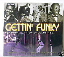 GETTIN' FUNKY THE BIRTH OF NEW ORLEANS R & B - BOX 4 CD
