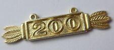 Anhänger zur goldenen Frontflugspange --200--    57er Version