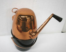 Vintage Ice-O-Mat Bucketeer Ice Crusher Copper top with black bakelite bottom