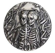 2015 1 oz Gemini Silver Coin | Memento Mori Zodiac Series | SkullCoins