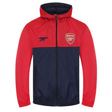 Arsenal FC Official Football Gift Boys Shower Jacket Windbreaker