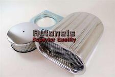 Finned Aluminum Hood Scoop Hilborn Mini Scoop Single Air Cleaner 4BBL Blower