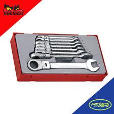 Teng Tools -  8 Piece Flex Head Ratcheting Spanner Set