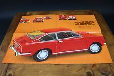 Fiat 850 Sport Coupe 903cc 1968-71 Original UK Dealer Sales Brochure
