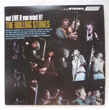 The Rolling Stones,  Got Live If You Want It!  (1966),  Rock,  STEREO  33 RPM LP