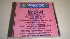RAPMASTERS 6 The Best of Rap Easy-E, NWA,Run DMC + more HIP HOP CLASSIC 1989 CD