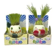Lot of 2 - Magic Egg Babies – Grows Grass Hair! Great For Easter!