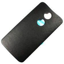 Motorola Moto X 2nd Gen. 2014 Battery Back Door Cover Genuine Leather Black