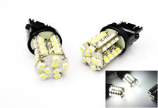 2 PCS WHITE 40 SMD LED 3157 3156 3457 For NISSAN Front Turn Signal Light Bulbs