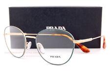 Brand New Prada Eyeglass Frames 52VV 261 Gold Size 52 For Women Men