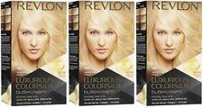 Pack of 3 Revlon Luxurious Colorsilk Buttercream Light Blonde 81N Ammonia Free