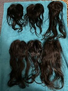 Lot Of 6 4x4 Lace Closures