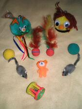 10 Stück!!! Katzenspielzeug Set 271 NEU!!