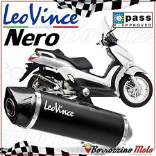 POT SILENCIEUX APPROUVE LEOVINCE NERO INOX YAMAHA X-MAX 125 2014 2015