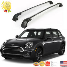 Top Roof Rack Fit FOR 2016 -2018 MINI CLUBMAN Baggage Luggage Cross Bar
