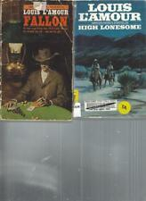 LOUIS L'AMOUR - HIGH LONESOME - A LOT OF 2 Books