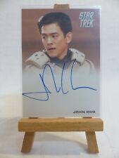Star Trek 2009 movie trading card autograph John Cho as Hikaru Sulu