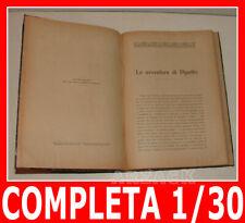 LE AVVENTURE DI PIPETTO Nerbini 1933 Paolo Lorenzini Collodi Nipote