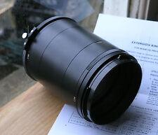 genuine Mamiya Press extension ring tubes set