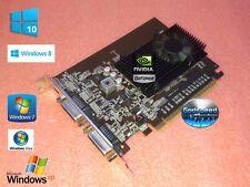 1GB Dell Precision T1500 T1600 T1650  Dual Monitor DVI / Mini-HDMI Video Card