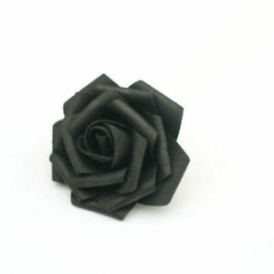 25/50 Pcs Foam Rose Artificial Flowers Wedding Party Bridal Bouquet Home Decor