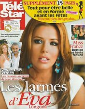 Tele Star N° 1783 Du 29/11/2010 -Eva Longoria/Tony Parker -Miss France- I.Adjani