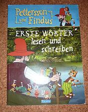 Petterson & Findus  ~ Erste Wörter lesen & schreiben