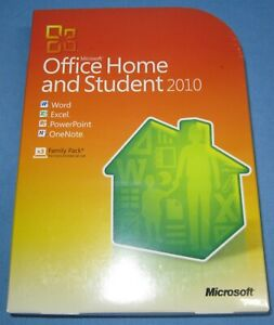 Microsoft Office Home & Student 2010 Software for Windows, Family Pack for 3 PCs