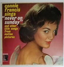 CONNIE FRANCIS Never On Sunday  LP vinyl record MGM T-90592
