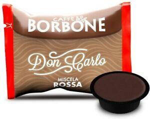Caffè Borbone  Don Carlo Miscela Rossa per Lavazza a Modo Mio - 200 Capsule