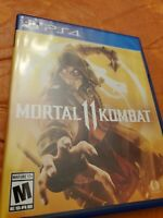 Mortal Kombat 11 -- Standard Edition (Sony PlayStation 4, 2019)