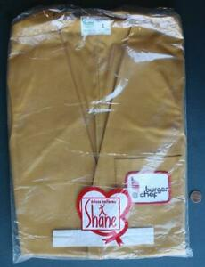1970s Burger Chef Restaurant UNUSED-UNWORN Bagged Shane Employees Vest-SCARCE!