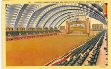 N.J. Atlantic City, Largest Convention Hall and Theatre in the World