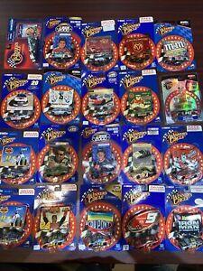 Lot Of 20 Winners Circle 1998-2002 NASCAR 1/64 Drivers Sticker Race Hood NIP