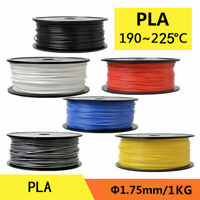 3D Printer Filament PLA 1.75mm For RepRap MakerBot Print Various Colors