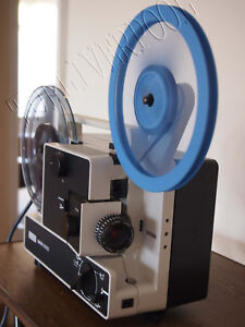 EUMIG 605D SUPER 8 STD 8 CINE MOVIE FILM PROJECTOR FULLY SERVICED