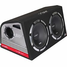 "Vibe Slick TWIN 12 ""Active Subwoofer affiliate e Box 2400W Costruito In Amp"