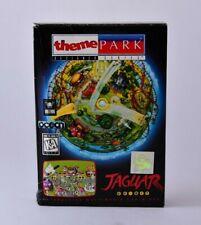 Theme Park Atari Jaguar Complete in Box