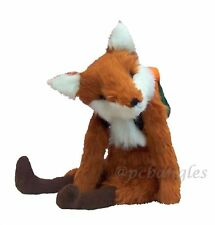 """Foxy 19"""" soft toy fox sewing pattern by pcbangles."""