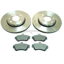VOLVO S40 / V40 1998-2003 MINTEX 2 FRONT BRAKE DISCS AND PADS SET NEW