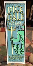 Dick Dale w/ Maraca 5-0 / Beloved Invaders - Denver 2001 Poster #53/65 Surf