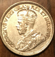 1931 CANADA SILVER 10 CENTS - Superb example!