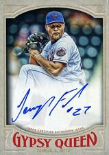 Jeurys Familia 2016 Topps Gypsy Queen Certified On Card Autograph Auto