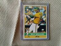 1976 Topps Billy Williams Card#525