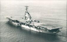 Postcard Sized Photo American Essex Class Aircraft Carrier USS Kearsarge