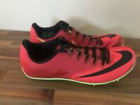 Nike Zoom 400 Running Track Spikes Orange Red Black/Volt AA1205-663