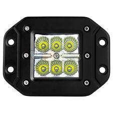 18W Square LED Cube Pods Work Light Flush Mount Offroad Truck Bumper UTV(1Pcs)