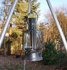 Antike Bahnlampe, Petroleumlampe v. 1900 // Old Railroad Lantern, Oil Lamp, 1900